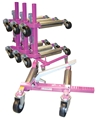 Vehicle Dolly Set w/ Rack